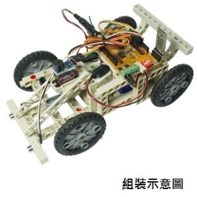 iPOE  A2 積木四輪傳動車教具箱