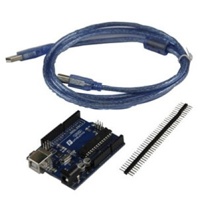Funduino 相容 Arduino UNO 8bit(含USB線、含排針)