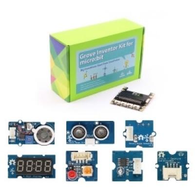 BBC micro:bit -Grove Inventor kit 感測器學習教具盒