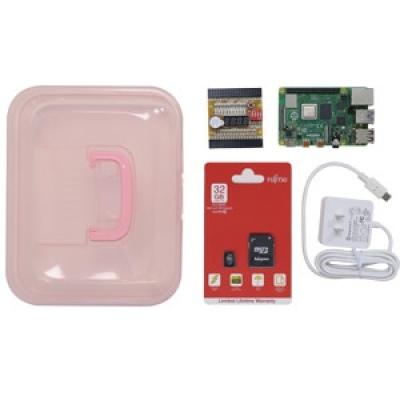 iPOE R0樹莓派GPIO學習教具箱(含樹莓派4B開發板4GB)