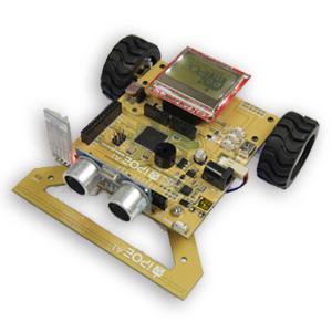 iPOE A1輪型機器人教具箱含使用手冊(附電池)