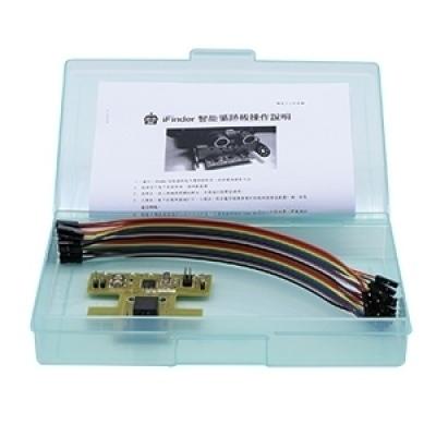 iFinder循跡感測板(含微控制器、6個循跡點)