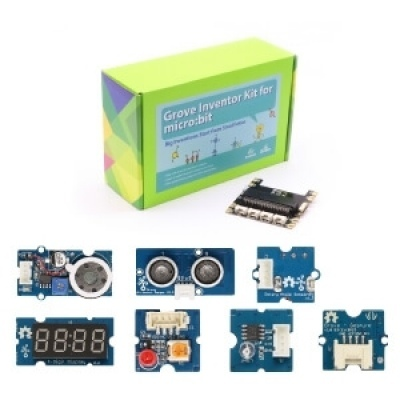 BBC micro:bit -Grove Inventor kit 感測器學習套件