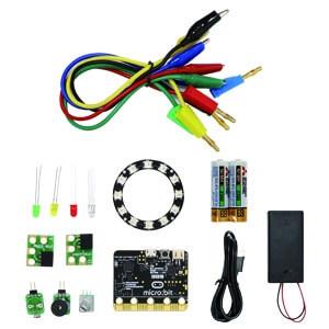 iPOE N2 micro:bit GPIO 學習套件包(含收納盒、電池、USB線100cm)