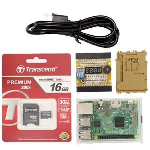 樹莓派GPIO學習套件3代B型(含收納盒、USB線100cm)
