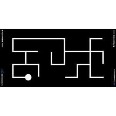 輪型機器人線迷宮場地圖