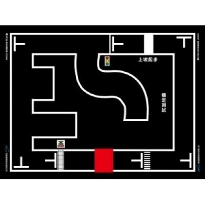 輪型機器人駕訓場地圖