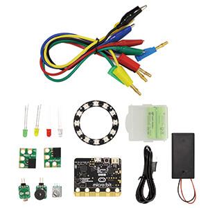 iPOE N2 micro:bit GPIO 學習教具箱(GPIO Kit for micro:bit)(附電池、USB線100cm、收納盒)