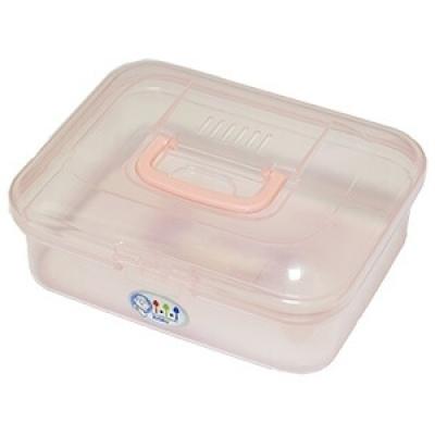 掀蓋式塑膠盒(樹莓派、E2、8051單晶片、M4、攜帶計時器適用)