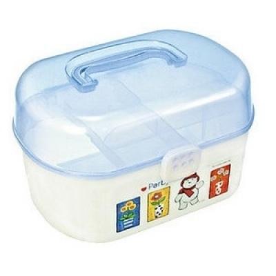 長方雙層圓角塑膠盒(Ranger 、機電小木屋適用)