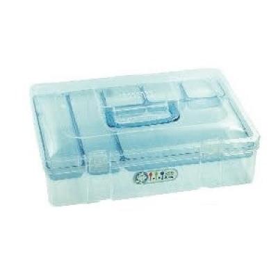 長方雙層扁型塑膠盒(iPOE P0適用)