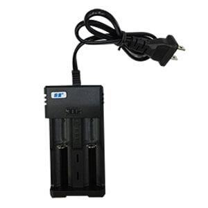 雙槽鋰電池充電器(3.7V;18650、14500鋰電池共用)