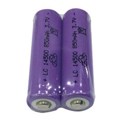 14500鋰充電電池3.7V/850mAh(2入/收縮)
