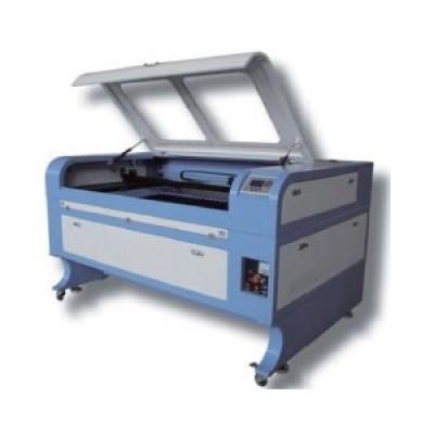 中型雷射雕刻切割機100W,成型尺寸60x90cm,AC220V