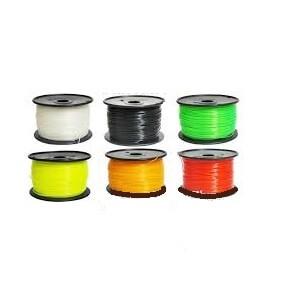 ABS線材 Φ1.95mm,1.5 kg/捲,黃色 ZB-ABS-Y (CW)