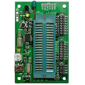 EZ USB 8051燒錄器(附包裝盒、含銅柱4個、螺母4個)