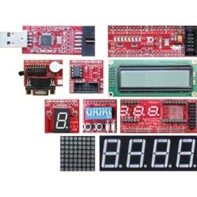 89S51/52單晶片應用模組成品(附包裝盒)