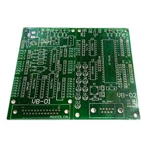 微電腦控制RS-23C串埠實習與轉接板(空板)
