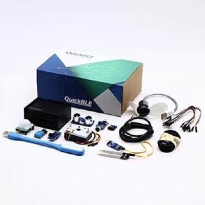 QuickBLE 互動裝置平台(含PM2.5 模組,共9個模組)