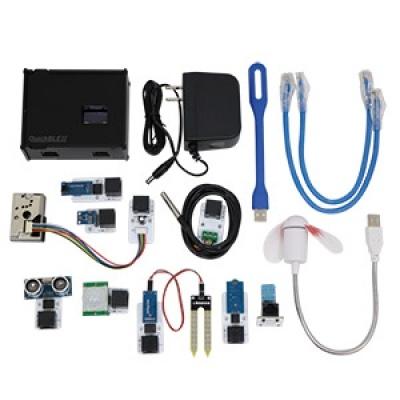 QuickBLE Ⅱ物聯網DIY互動裝置平台(含PM2.5 模組,共9個模組)