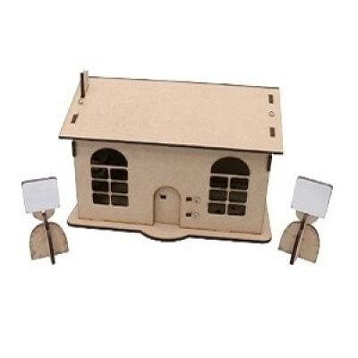 機電整合小木屋(密集板版本,含Arduino主控板和擴展板)