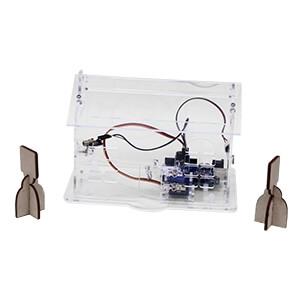 機電整合小木屋(透明壓克力版本,含Arduino主控板和擴展板)