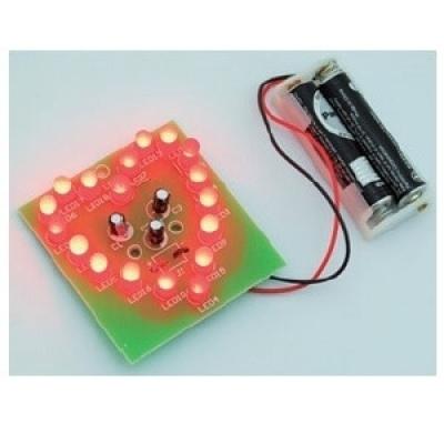 LED心型閃爍燈套件(最低訂購量30 套以上)