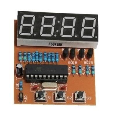 四位數電子鐘製作套件 (最低訂購量30 套以上)
