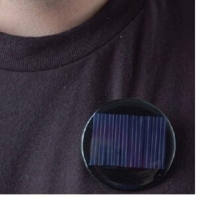 圓形太陽能板徽章套件(最低訂購量30 套以上)
