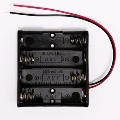 電池盒(輸出6V) (可裝3號電池4顆)