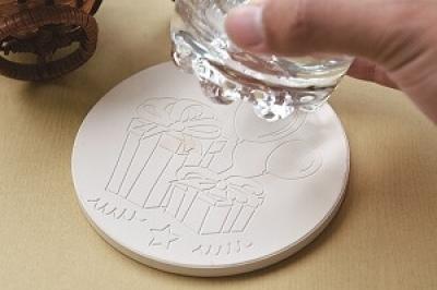 CNC實習材料包 - 吸水杯墊(5人份)