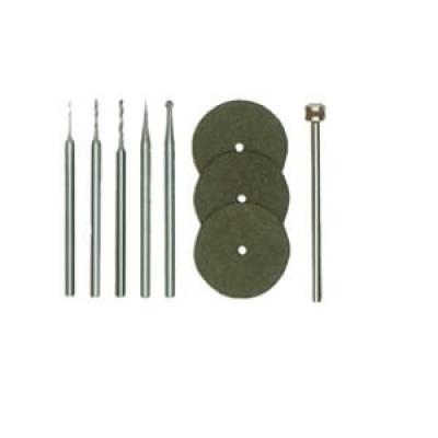 電子加工-鑽銑磨頭9件組