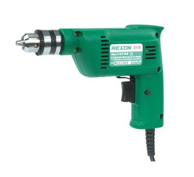 REXON 手提式10mm電鑽240W