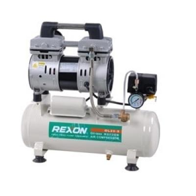 REXON 迷你型9L無油式靜音空壓機2.0HP(約1,491W)