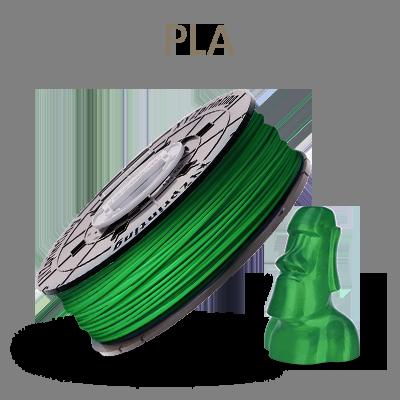 XYZ Printing PLA耗材/600g (綠色)