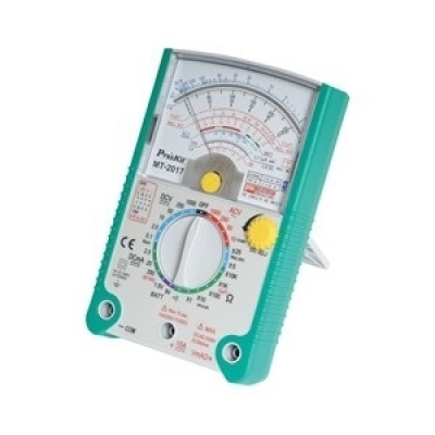 指針型雙保險絲防誤測雙面PC板三用電錶