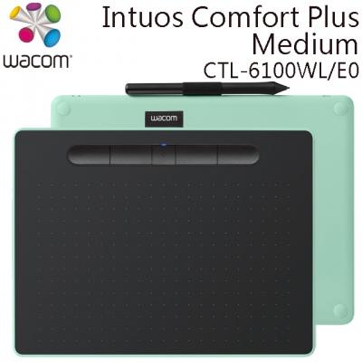 Wacom Intuos Comfort Plus Medium 繪圖板 (藍牙版,CTL-6100WL/E0-C)