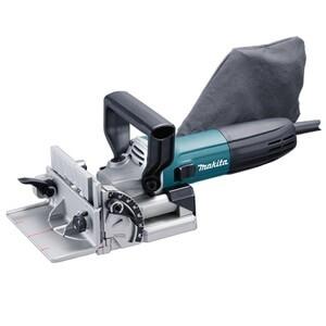 Makita手提式直插電木工榫接機