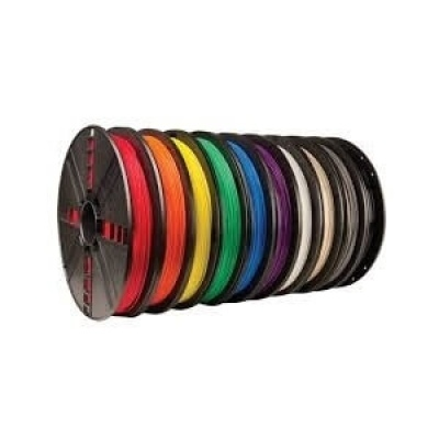 ABS線材 Φ1.75mm,1kg/捲,黃色 (DL)