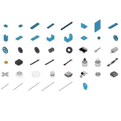 2020 MakeX Challenge 智造大師機器人升級包(含AI視覺模組)