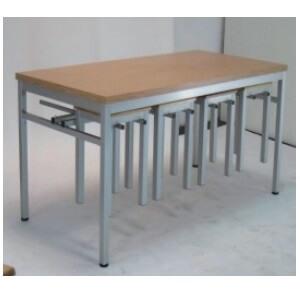 長方桌6尺W180xD70xH74cm