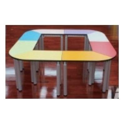 梯形桌5.4尺W163+115xD60xH74cm