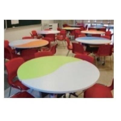 可掀式活動太極桌5尺W150XD60xH74cm(一張)